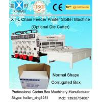 China High Speed Die Cutter Flexo Printer Slotter Machine For Carton Box Making factory