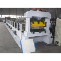 Buy cheap Mitsubishi PLC Cold Roll Forming Machine with ISO Quality System for Sandwich Panel from Wholesalers