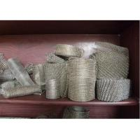 """Buy cheap 304 / 316 Knitted Stainless Steel Wire Mesh 20-700mm Width With Wire 0.01""""  0.009"""" from Wholesalers"""