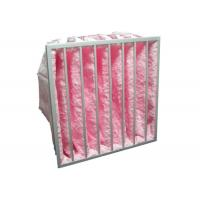 Buy cheap HVAC System Glass Fiber Multi - Pocket Air Filter F6 - F8 Efficiency For Greenhouse from Wholesalers