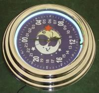 China 24 hours Neon Clock on sale