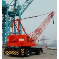 Buy cheap 20MT 50MT mobile wheel tire crane china manufacturer from Wholesalers