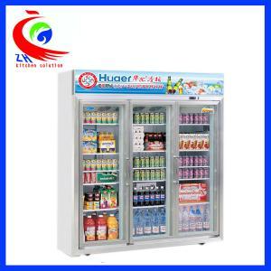 China Upright Beverage Showcase Refrigeration Equipment Refrigerator Display Cooler factory