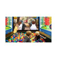 China Happy Penguins Subject Ar Games , Stronger Compatibility Interactive Wall Projection factory