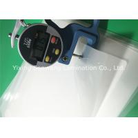 Buy cheap Crack Resistance Pouch Laminating Film A4 Glossy 216x303mm For Luggage Tags from Wholesalers
