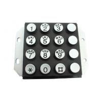 Buy cheap IP65 Vandal Proof Stainless Steel Metal Keypad With Engrave Letter from Wholesalers