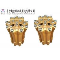 China Tapered Equipment Thread Button Bit 45mm-152mm Diameter ISO Approved factory