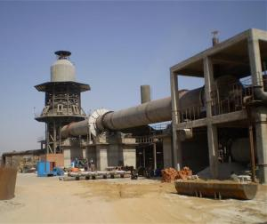 China Complete Production Laterite Nickel Calcination Rotary Kiln 12000t/D factory