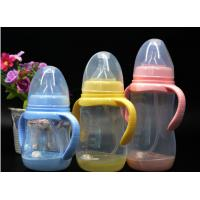 China BPA Free super wide neck Temperature change color PPSU baby feeding bottle 180ml-300ml factory