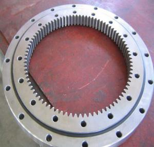 China Double Row Thrust Ball 42CrMo Slewing Ring Bearing factory