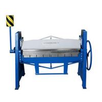 China Sheet metal manual folding machine factory