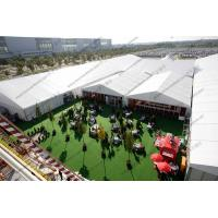 Buy cheap Huge Outdoor Event Tents with Decoration and AC System For Outdoor Exhibition / Conference / Party / Trade Show from Wholesalers