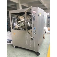 China Labortary Mini Tablet Chocolate Sugar Film-Coating Pharmaceutical Machine with 3 Pots factory