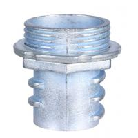 China Zinc Die Casting Flexible Conduit Fittings Screw In Flex ConnectorsPolished factory