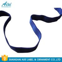 China Decorative Coloured Fold Over Elastic Webbing Straps For Underwear factory