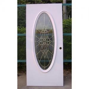 China Big oval flush door on sale
