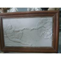 China white marble carved panel by hand factory