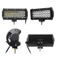 7 Inch Led Driving Light Bar 3 Row Die Casting Aluminum Housing Material