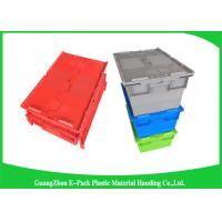 Buy cheap Eco-friendly Stackable Heavy Duty Plastic Storage Containers With Attached Lids from Wholesalers