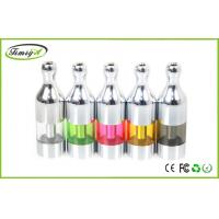 China Pyrex Protank Dual Coil Atomizer 510 / ego With 2.5ml , Changeable Bottom Coil System factory