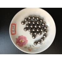 China Durable High Load Bearing Chrome Steel Balls , 9.525mm 3 / 8 Inch Steel Ball on sale