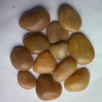 Buy cheap Yellow pebble stone from Wholesalers