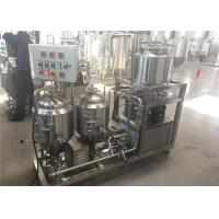 China Semi Automatic Home Beer Brewing Machine , 50L 100L 200L Beer Making Machine For Home factory