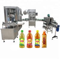 China Screw Capping Head Automatic Liquid Filling Machine 750ml - 1000ml Filling Volume Available factory