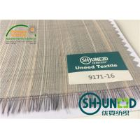 Buy cheap Horse Tail Woven Interlining Fabric For Uniform And Business Casual Suits from Wholesalers