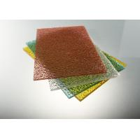 Buy cheap UV Protection Polycarbonate Solid Sheet High Impact Strength 1.2g/Cm³ from Wholesalers