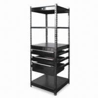 China Three-level Shelving with Three Drawers Attached, Measures 650 x 620 x 1,830mm factory