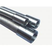 China 1 Inch Galvanized IMC Electrical Conduit Indoor Use Q195 Steel Material factory