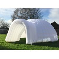 China Simple Inflatable Igloo Tent , White Inflatable Dome Tent CE / UL Certificate factory