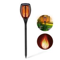China ABS Solar Panel Yard Lights , Outdoor Solar Spotlights Landscape Upgraded Torches factory