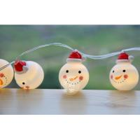 Buy cheap Christmas Lights, 16 Feet Christmas Lights Decoration Christmas Snowman Lights String with 30 Warm White Led Lights from Wholesalers