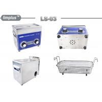 Buy cheap 3 Liter Knob Control Table Top Ultrasonic Cleaner 120W Jewelry Watch Clean Limplus from Wholesalers