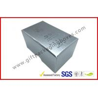 Buy cheap Free sample Silver Hot Stamping promotion Gift Boxes for memorabilia from Wholesalers