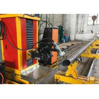 Buy cheap with flame and plasma cutting mode stainless steel round pipe square pipe cutting machine from Wholesalers