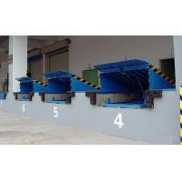 Buy cheap 8 Ton Fixed Loading / Unloading Hydraulic Dock Leveler with High Strength Manganese Steel from Wholesalers