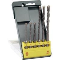 China 6PCS SDS Plus Hammer Drill Bit Set with Straight Tipped Sandblated on sale