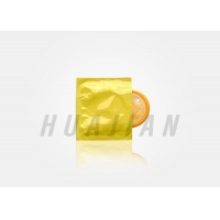 China Easy Tear Plastic Condom Packaging Foil Laminated Film factory