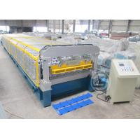 Buy cheap 415V/50Hz Roofing Sheet Roll Forming Machine For India Market Coil Width1450MM from Wholesalers