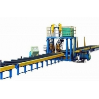 China Stable Speed T Type Submerged Arc Welding H Beam Production Line factory
