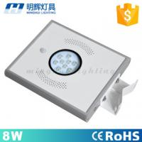 Buy cheap 8w waterproof ip65 induction all in one solar street light pir sensor garden light from Wholesalers