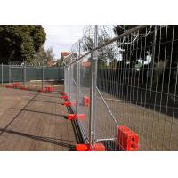 China Convenient Installation Temporary Fencing Panels For Construction on sale