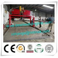 China Trailer Beam Horizontal Welding Machine H Beam Production Line For Steel Construction factory