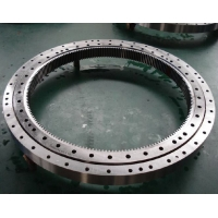 China Mining Four Point Contact Small Slewing Bearing factory