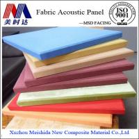 Buy cheap Fabric Fireproof Sound Absorption Acoustic Wall Panel from Wholesalers