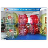 China Custom Amazing Bubble Suit Inflatable Bumper Ball For Sports Entertainment factory