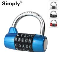 Buy cheap Waterproof Anti - Theft High Security Combination Padlock Clothes Locker Use from Wholesalers